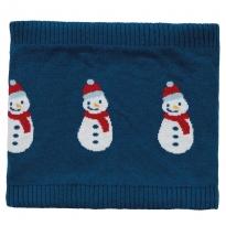 Frugi Snowmen Robyn Snood
