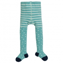 Frugi Snowy Spot Tamsyn Tights