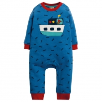 Frugi Snug and Cosy Boat Romper
