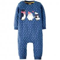 Frugi Penguin Snug & Cosy Romper