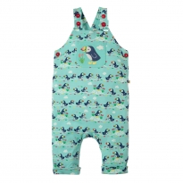 Frugi Puffin Parade Lovely Day Dungarees