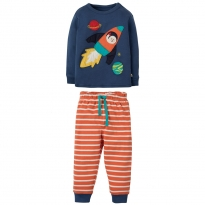 Frugi Rocket Little Long John PJs