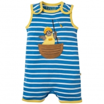Frugi Seal Lundy Dungarees