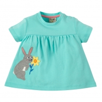 Frugi Rabbit Eva Applique Top