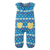 Frugi Flower Farm Dory Gathered Playsuit