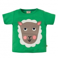 Frugi Sheep Polzeath Pocket Top