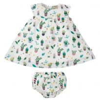 Frugi Greenhouse Dolly Muslin Outfit