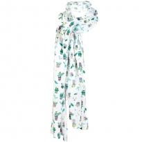 Frugi Bloom Greenhouse Muslin Feeding Scarf