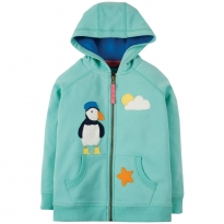 Frugi St Agnes Puffin Heather Hoody