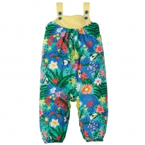 Frugi Hothouse Floral Springtime Dungarees