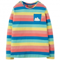 Frugi Rainbow Cloud Louise Top