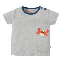 Frugi Crab Padstow Pocket T-Shirt