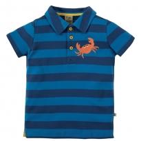 Frugi Crab Penwith Polo Shirt