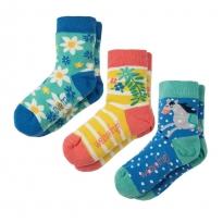 Frugi Horse Susie Socks x3