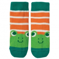 Frugi Frog Little Perfect Pair Socks