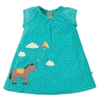 Frugi Pony Amy Applique Dress