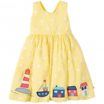 Frugi Porthcurno Sunshine Harbour Party Dress