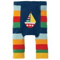 Frugi Rainbow Boat Knitted Leggings