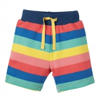 Frugi Rainbow Stripe Little Sydney Shorts
