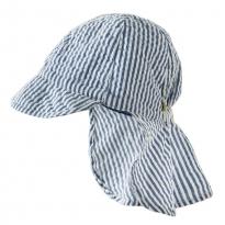 Frugi Seersucker Legionnaires Hat