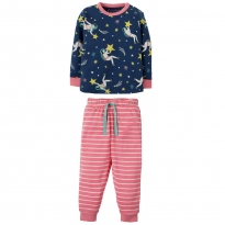 Frugi Shooting Stars Little Long John PJs