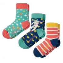 Frugi Space Susie Socks x3