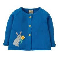 Frugi Suzy Swing Rabbit Cardigan