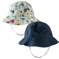 Frugi Tropical Tresco Dexter Reversible Hat