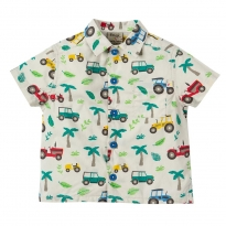 Frugi Tropical Tresco Harvey Hawaiian Shirt
