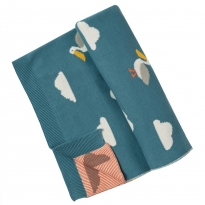 Frugi Pelicans Welcome Home Blanket