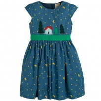 Frugi Sparkle & Shine Christmas Town Dress