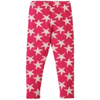 Frugi Raspberry Starfish Libby Leggings