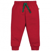 Frugi Tango Red Kneepatch Crawlers