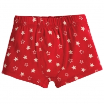 Frugi Tango Star Sean Printed Boxer Trunks