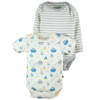 Frugi Summer Seas Teeny Body x 2