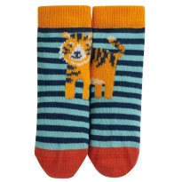 Frugi Tiger Perfect Pair Little Socks