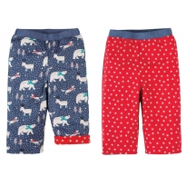 Frugi Snowscape Topsy Turvy Trousers
