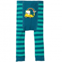 Frugi Truck Fun Knitted Leggings