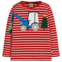 Frugi Tractor Scoop Interactive Top