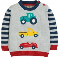 Frugi Transport Kal Knitted Jumper
