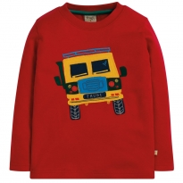 Frugi Truck Adventure Applique Top