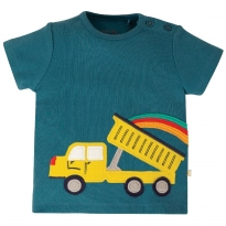 Frugi Truck Scout Applique Top