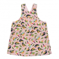 Frugi Tweet Tilly Cord Pinafore Dress