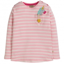 Frugi Unicorn Louise Pocket Top