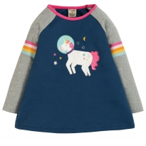 Frugi Unicorn Suzie Swing Tee