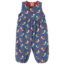 Frugi Winter Robin Willow Cord Dungarees