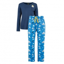 Frugi Women's Polar Bear Eve Pyjamas