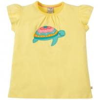 Frugi Turtle Ellie Applique T-Shirt