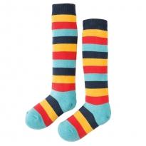 Frugi Aqua Rainbow Firefly Socks
