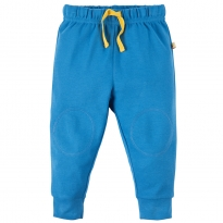 Frugi Blue Kneepatch Crawlers